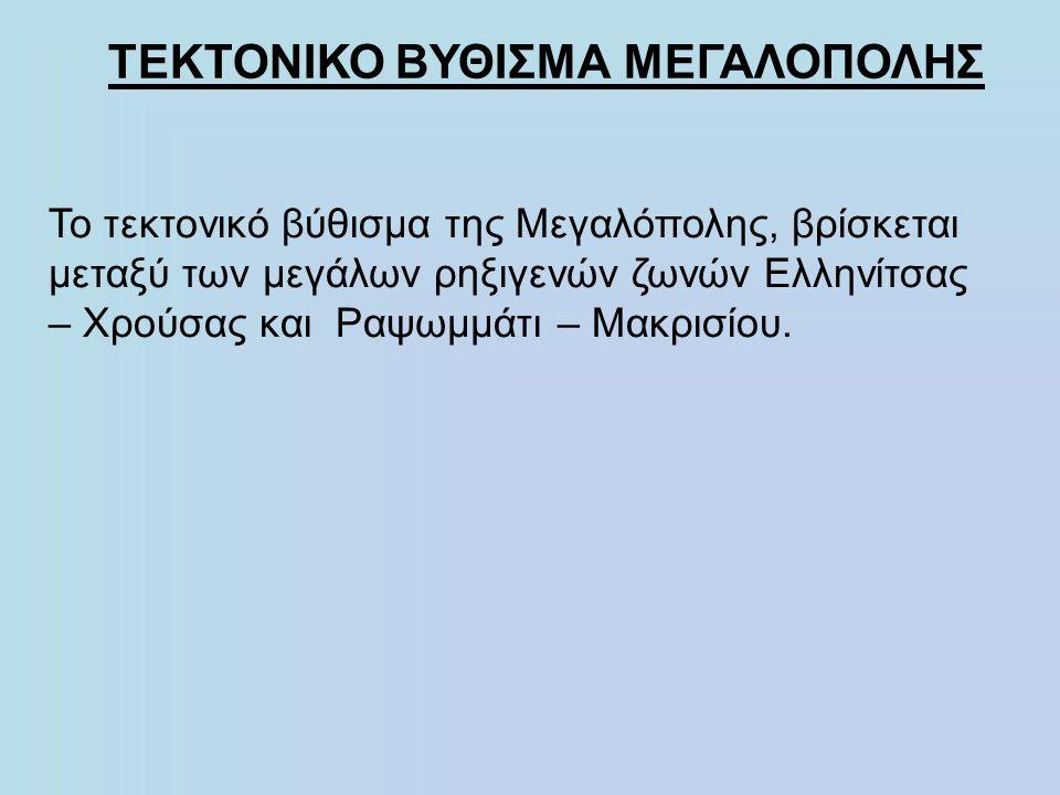 ΤΕΚΤΟΝΙΚΟ ΒΥΘΙΣΜΑ ΜΕΓΑΛΟΠΟΛΗΣ