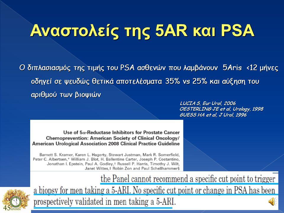 Αναστολείς της 5ΑR και PSA