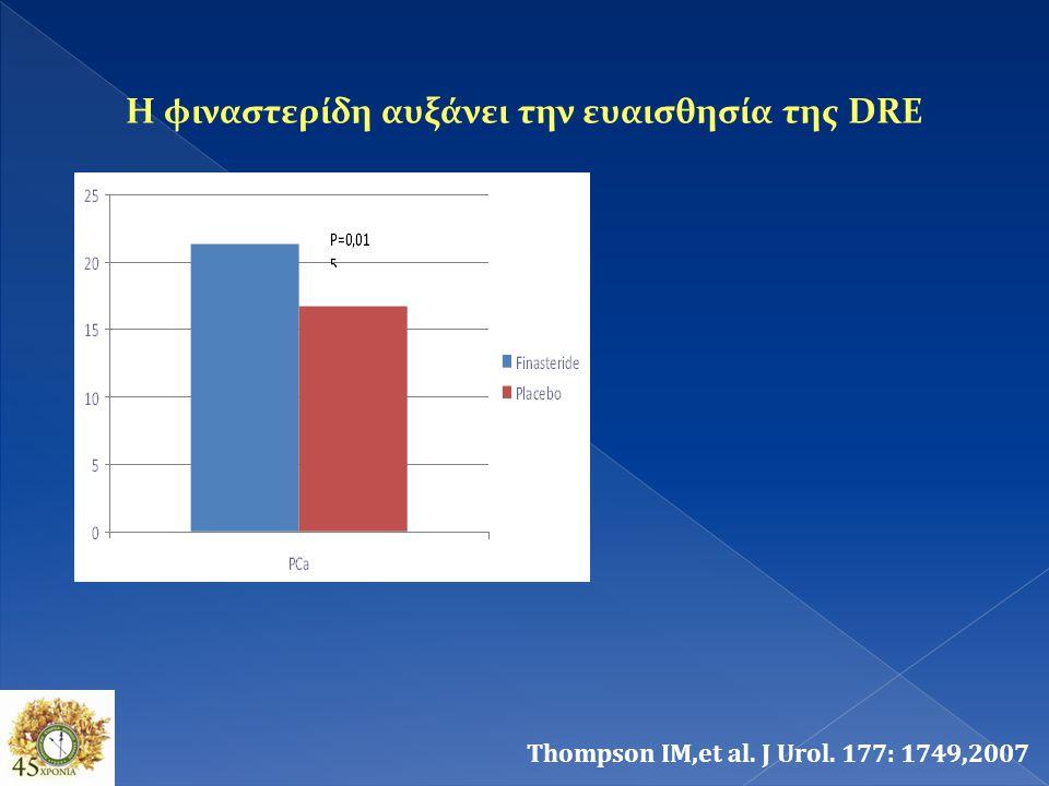 Η φιναστερίδη αυξάνει την ευαισθησία της DRE