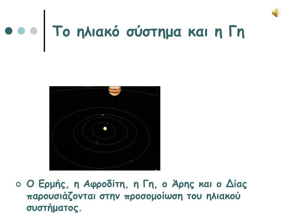 Το ηλιακό σύστημα και η Γη
