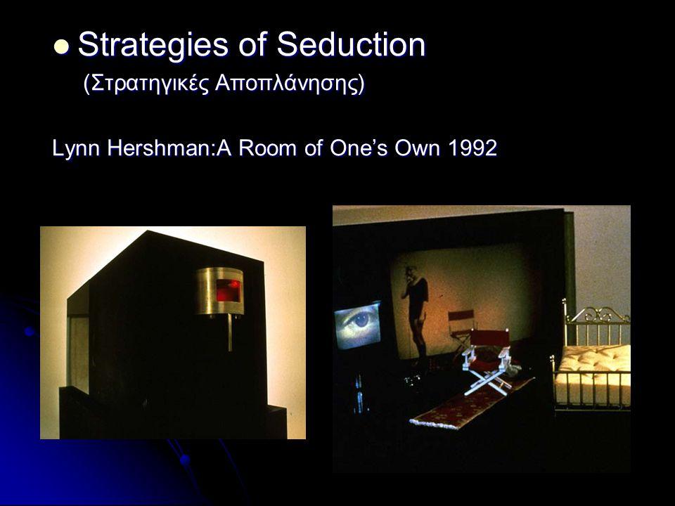 Strategies of Seduction