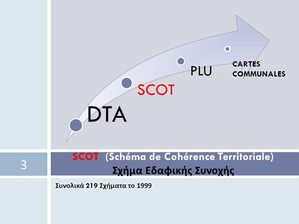 SCOT (Schéma de Cohérence Territoriale) Σχήμα Εδαφικής Συνοχής