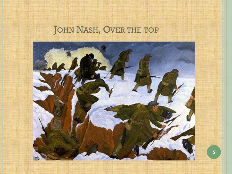 John Nash, Over the top