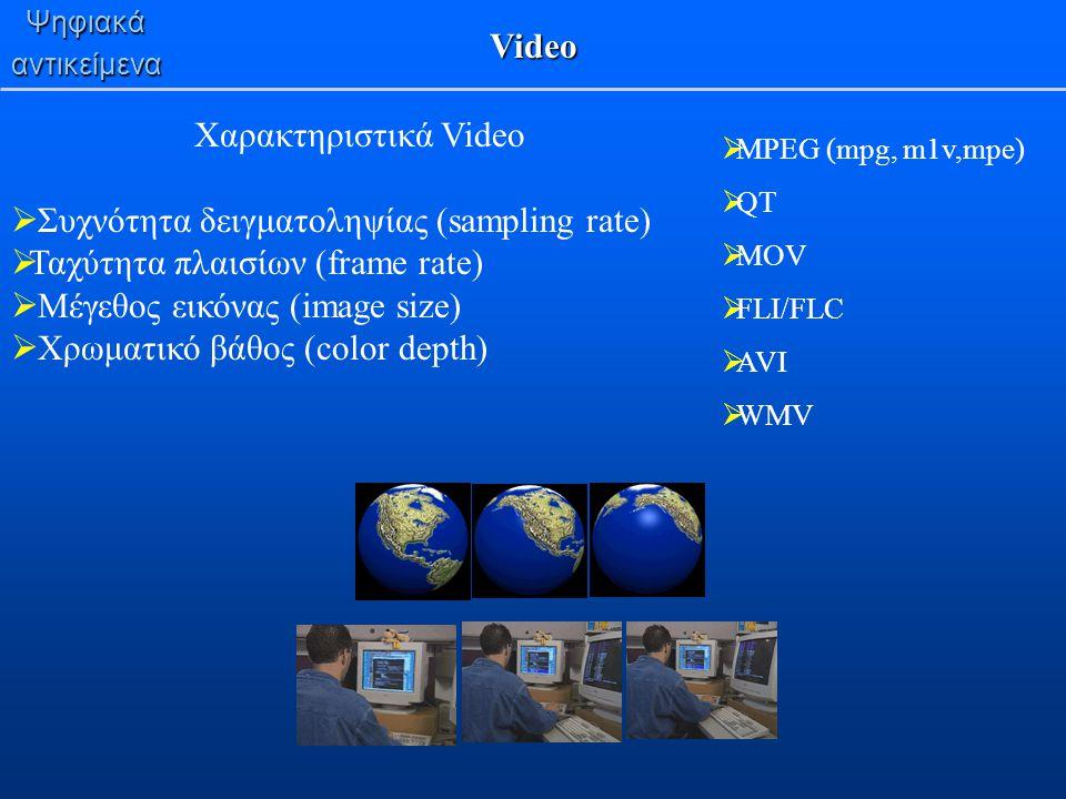 Συχνότητα δειγματοληψίας (sampling rate)
