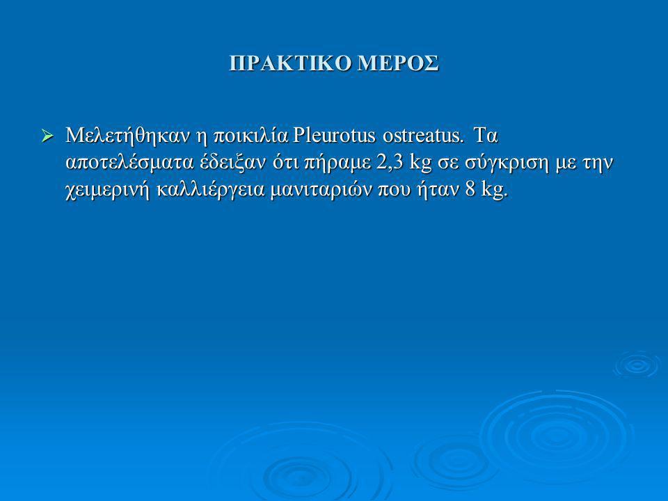 ΠΡΑΚΤΙΚΟ ΜΕΡΟΣ