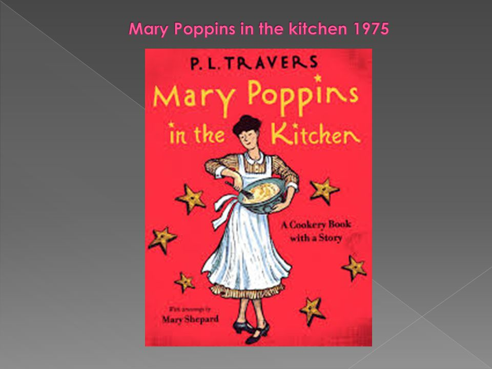 Mary Poppins in the kitchen 1975