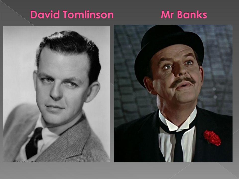 David Tomlinson Mr Banks