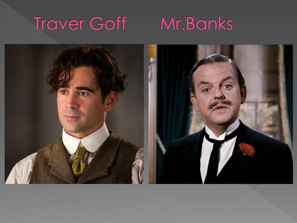 Traver Goff Mr.Banks