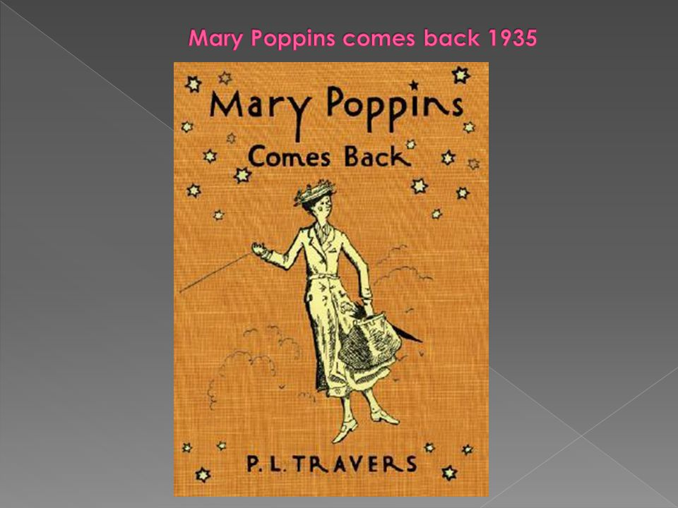 Mary Poppins comes back 1935