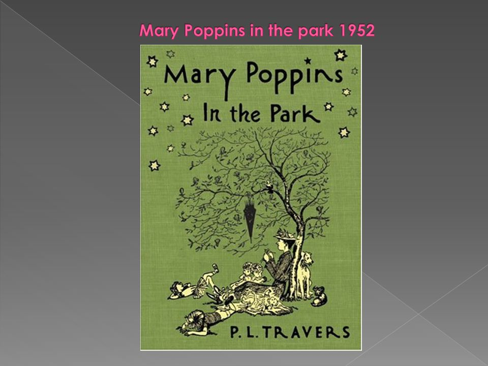 Mary Poppins in the park 1952