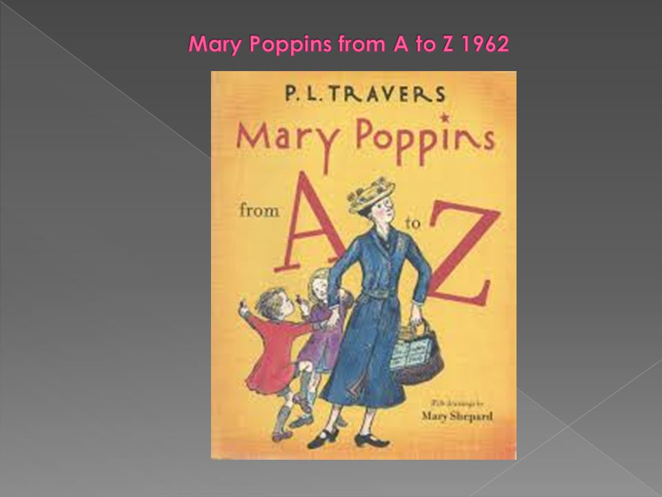 Mary Poppins from A to Z 1962