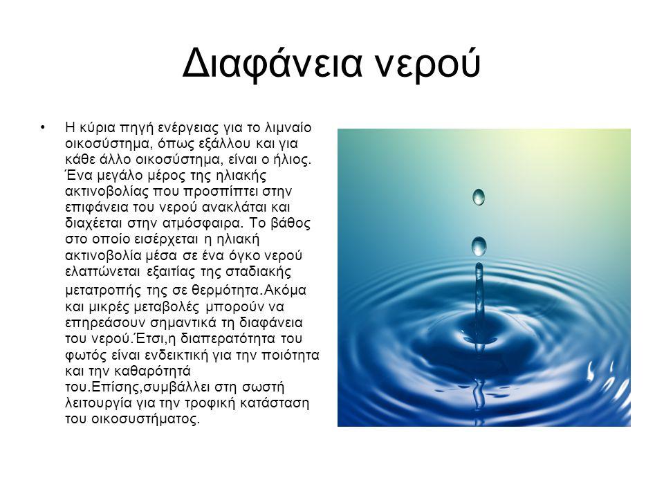 Διαφάνεια νερού