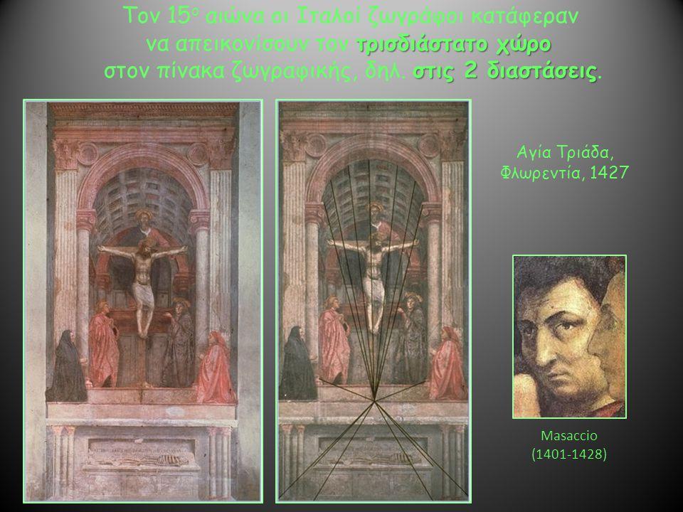 Τον 15ο αιώνα οι Ιταλοί ζωγράφοι κατάφεραν
