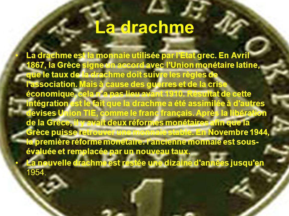 La drachme