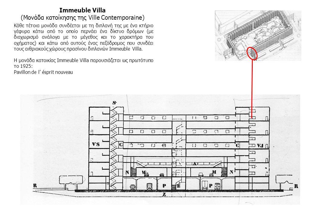 (Μονάδα κατοίκησης της Ville Contemporaine)