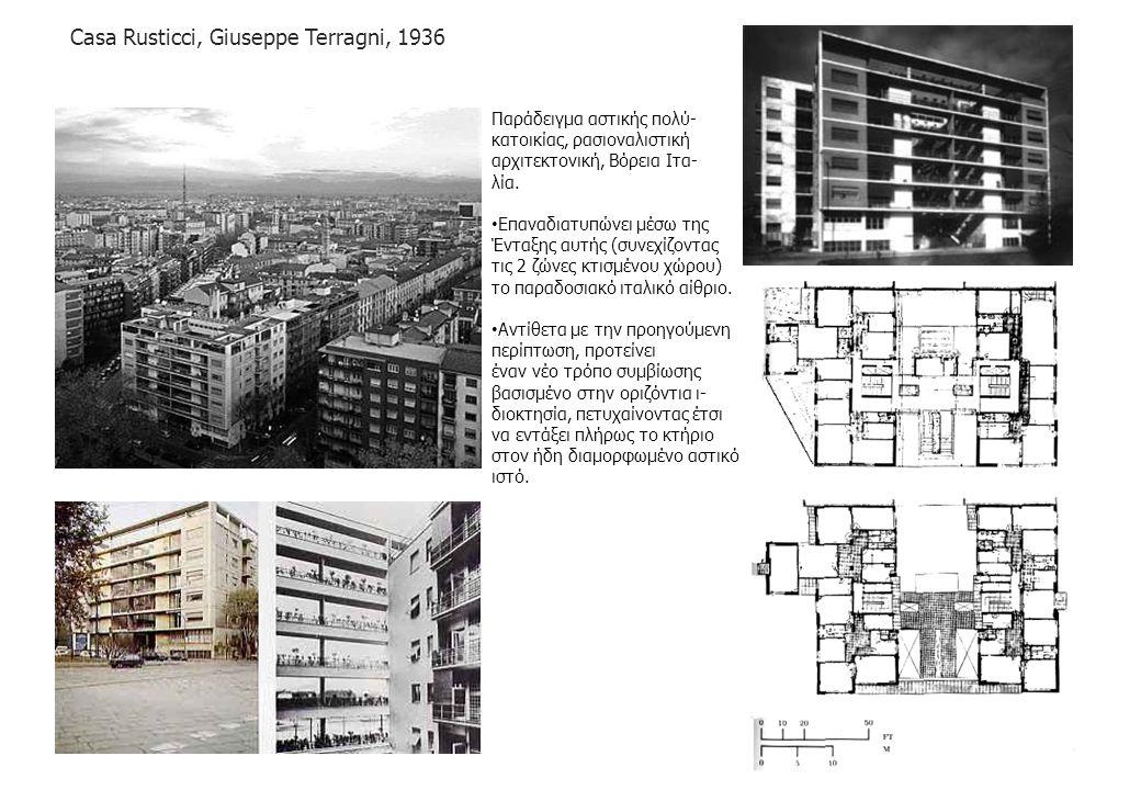 Casa Rusticci, Giuseppe Terragni, 1936