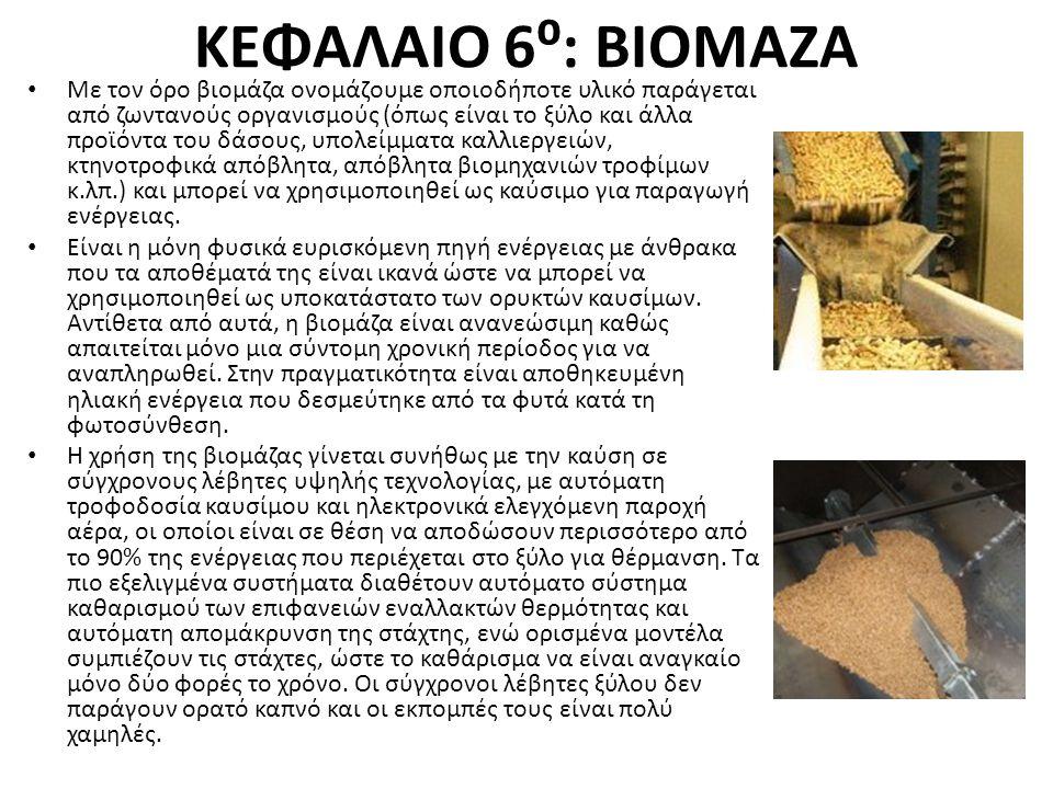 ΚΕΦΑΛΑΙΟ 6⁰: ΒΙΟΜΑΖΑ