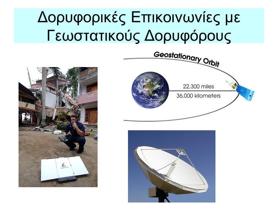 Δορυφορικές Επικοινωνίες με Γεωστατικούς Δορυφόρους