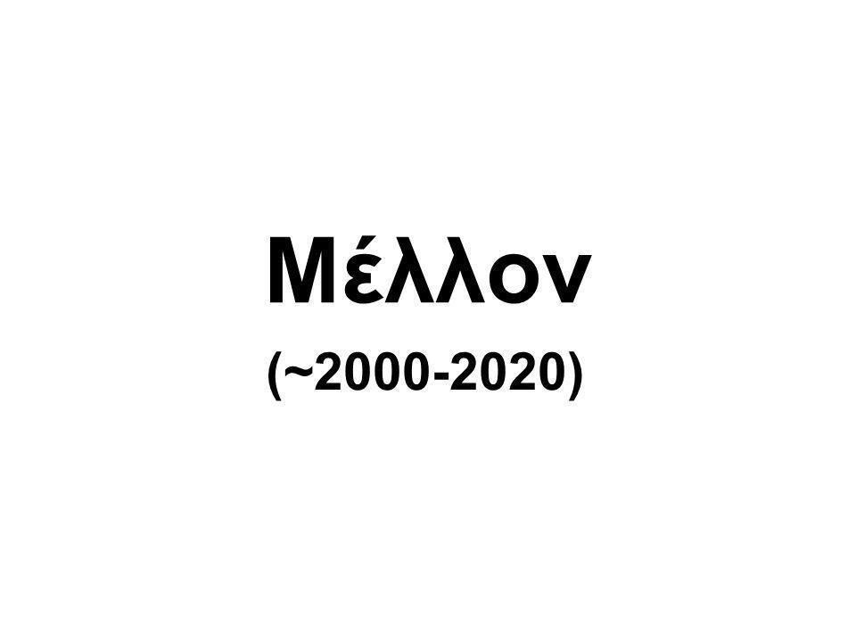 Μέλλον (~2000-2020)