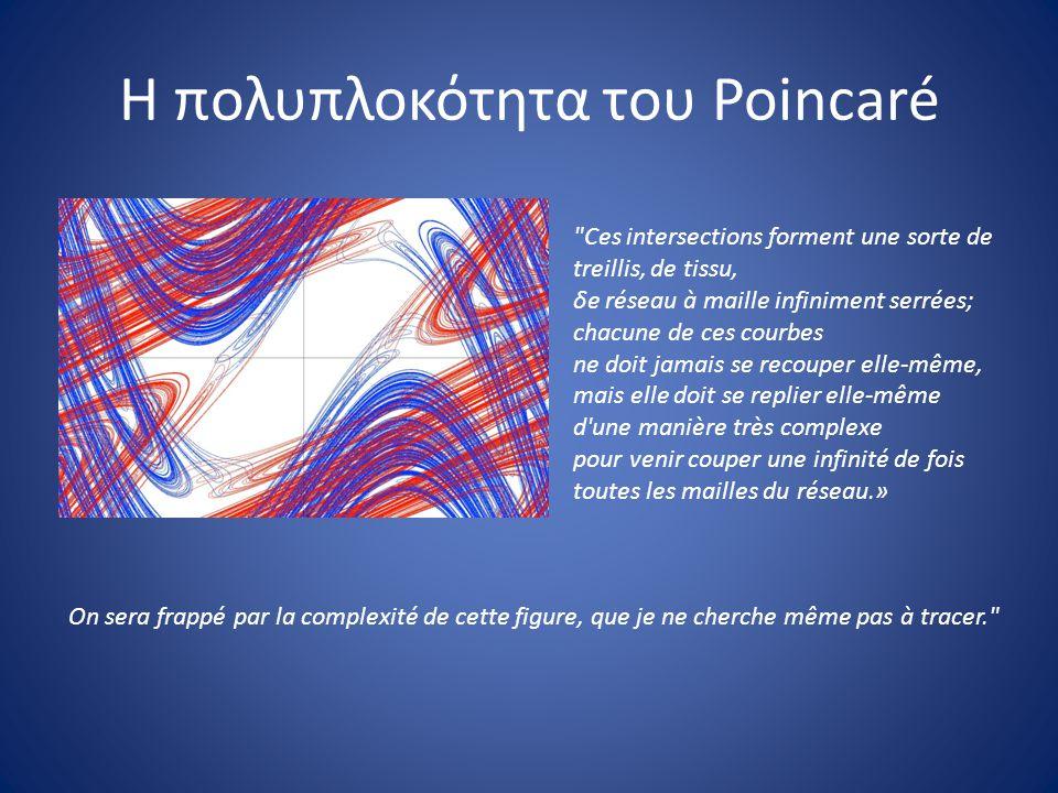 Η πολυπλοκότητα του Poincaré