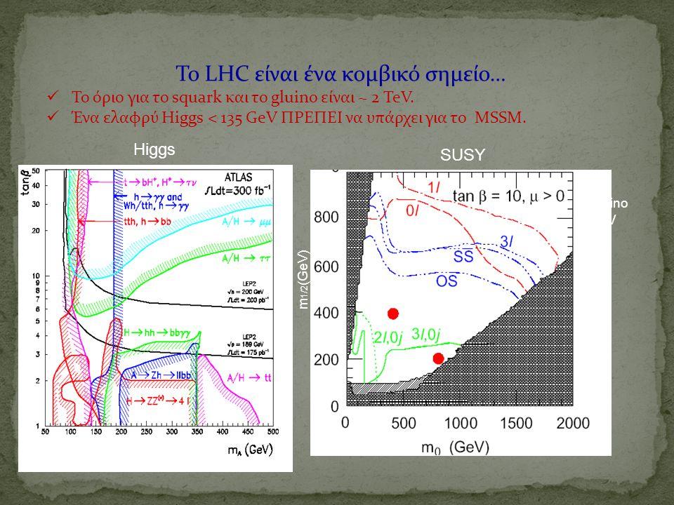 Το LHC είναι ένα κομβικό σημείο…