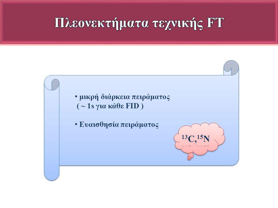 Πλεονεκτήματα τεχνικής FT