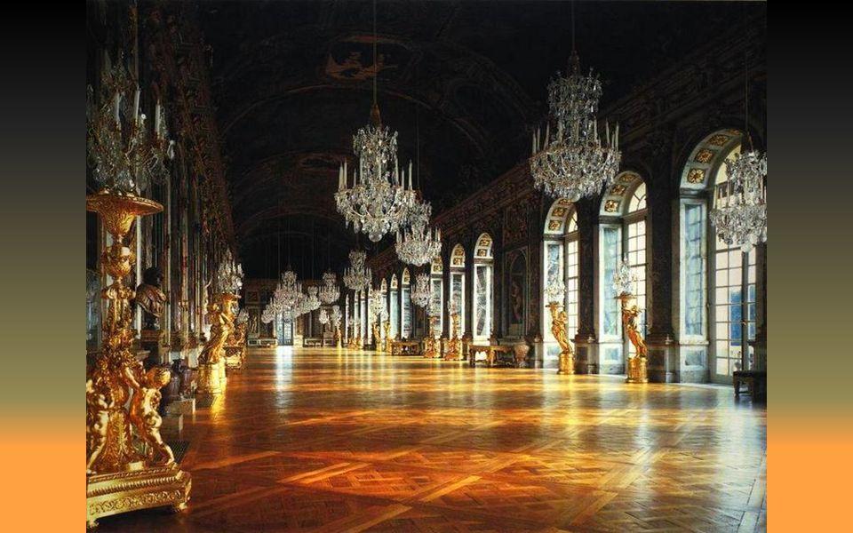 Galerie des glaces grands appartements - – Η στοά των πολυελαίων των μεγάλων διαμερισμάτων