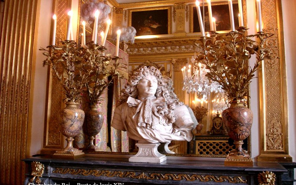 Chambre du Roi – Buste de louis XIV