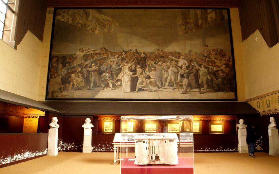 Salle du jeu de paume - Σάλα για το παιχνίδι της «παλάμης» (;)