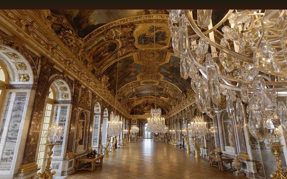 La galerie des glaces – Η στοά των κρυστάλλινων πολυελαίων