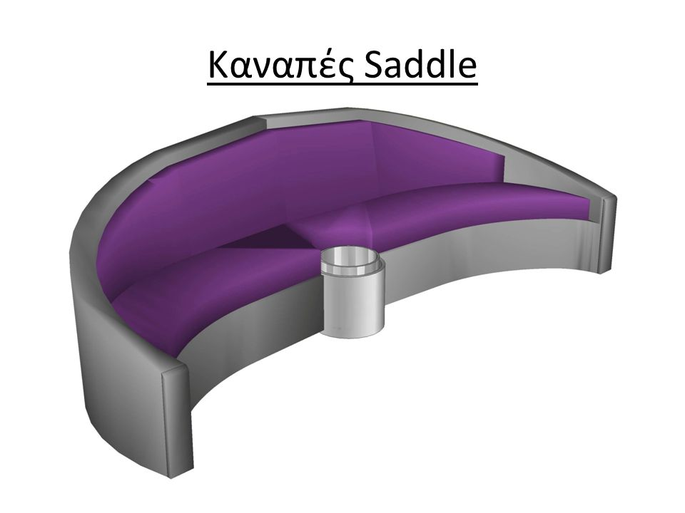 Καναπές Saddle