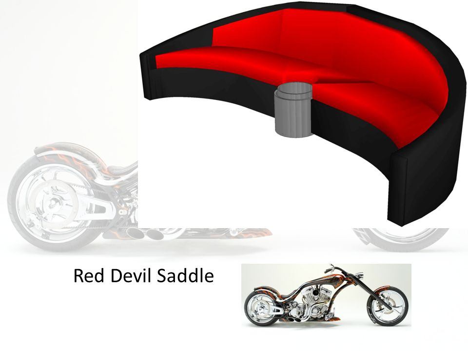 Red Devil Saddle