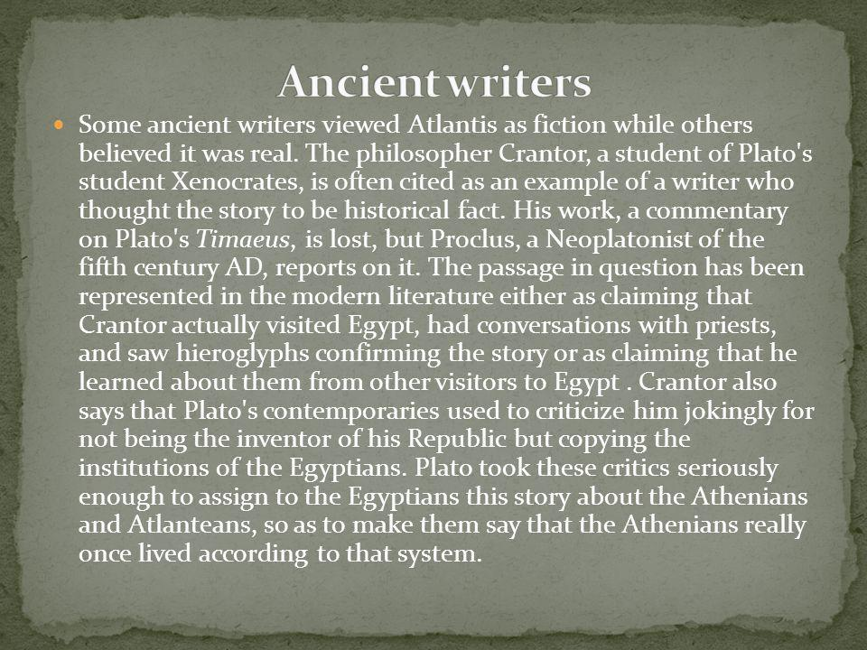 Ancient writers