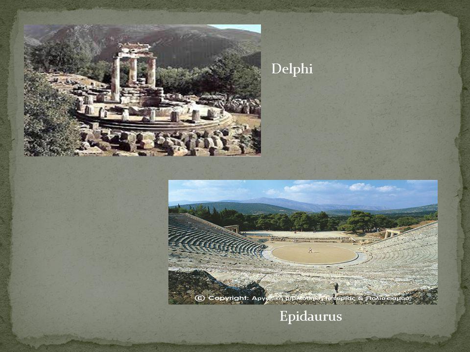 Delphi Epidaurus