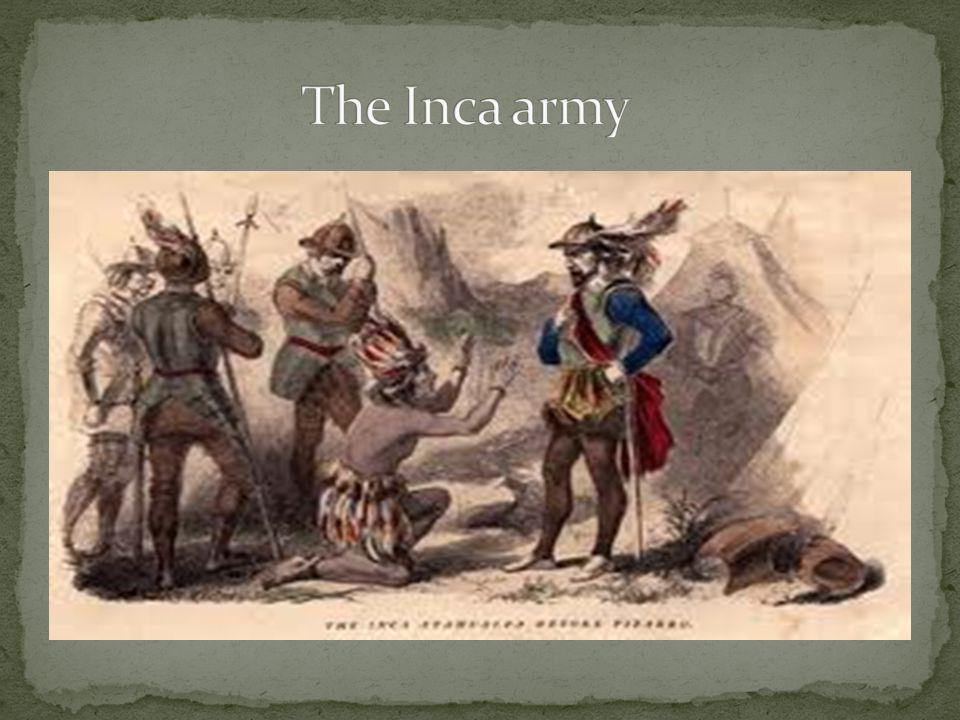 The Inca army
