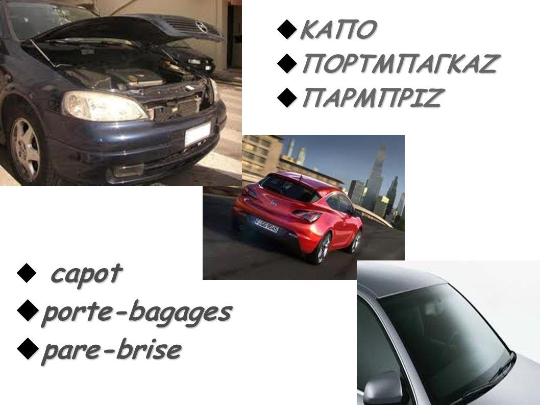 ΚΑΠΟ ΠΟΡΤΜΠΑΓΚΑΖ ΠΑΡΜΠΡΙΖ capot porte-bagages pare-brise 30