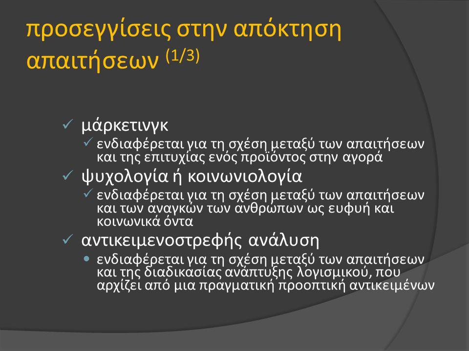 προσεγγίσεις στην απόκτηση απαιτήσεων (1/3)