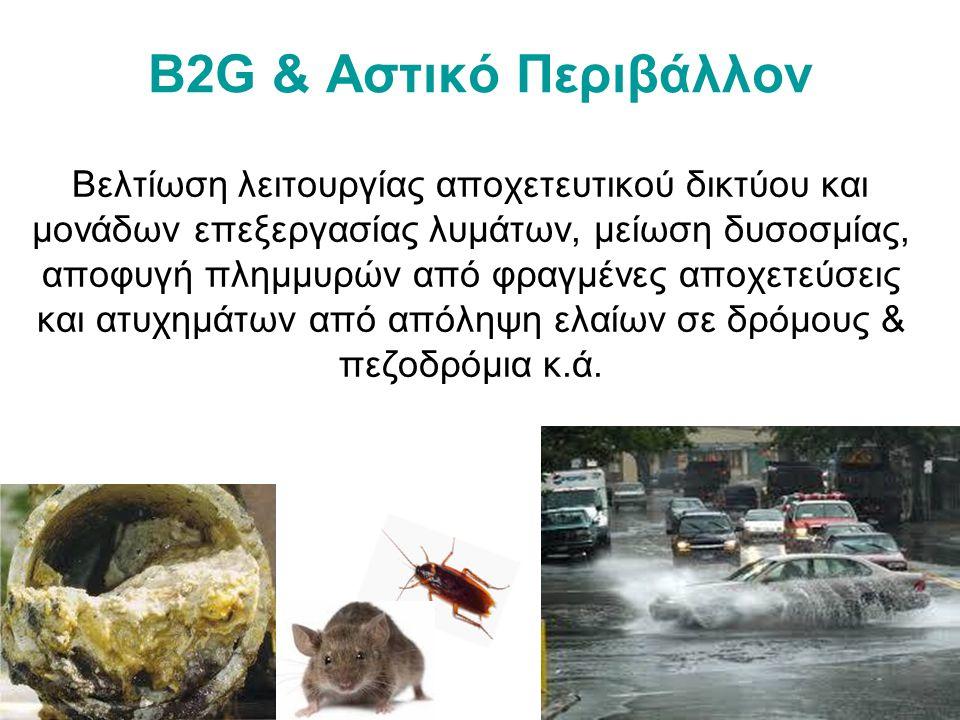 B2G & Αστικό Περιβάλλον