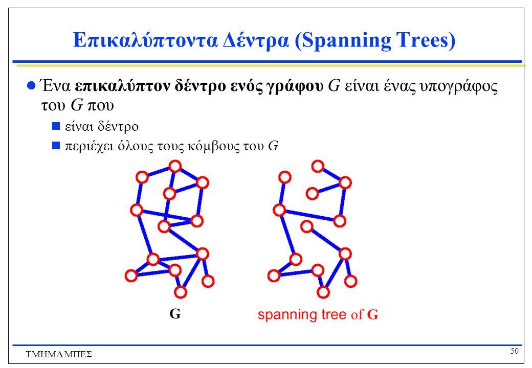 Επικαλύπτοντα Δέντρα (Spanning Trees)