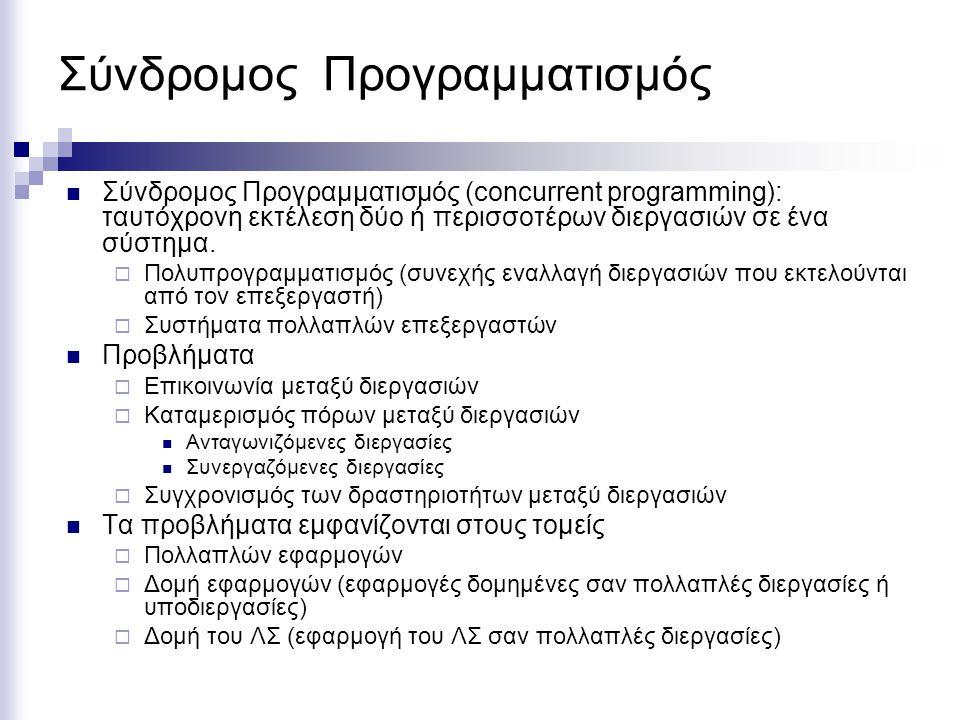 Σύνδρομος Προγραμματισμός