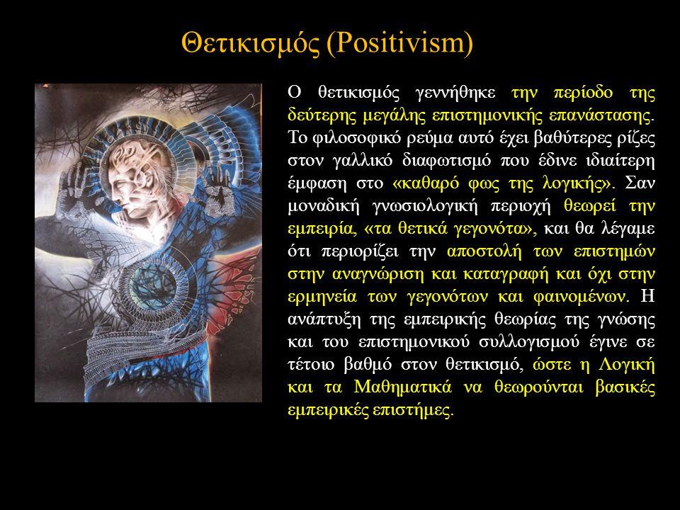 Θετικισμός (Positivism)