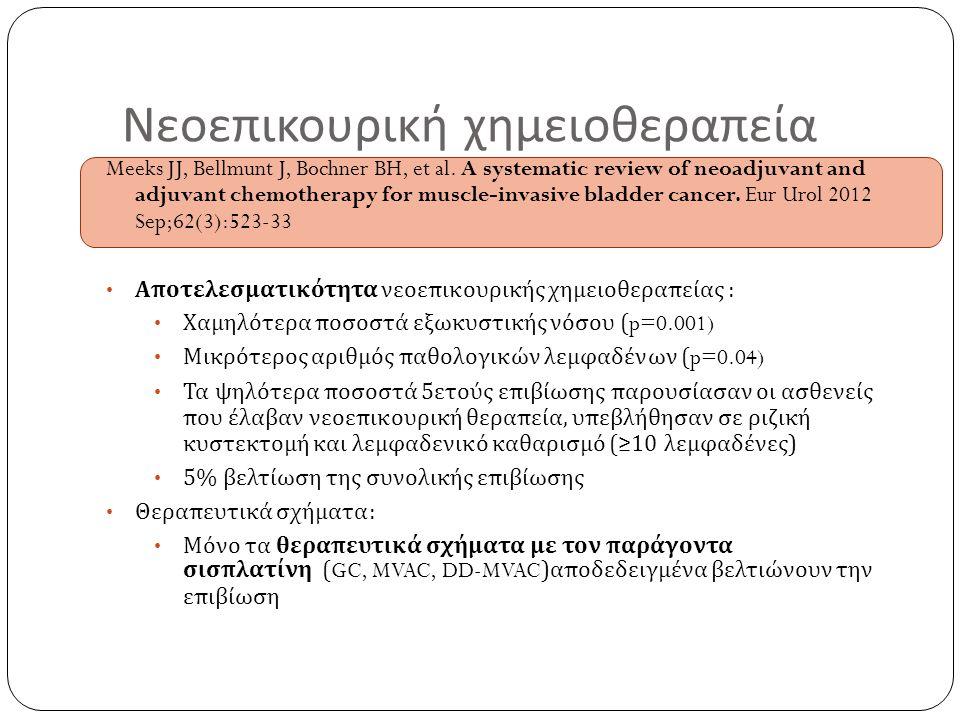 Νεοεπικουρική χημειοθεραπεία