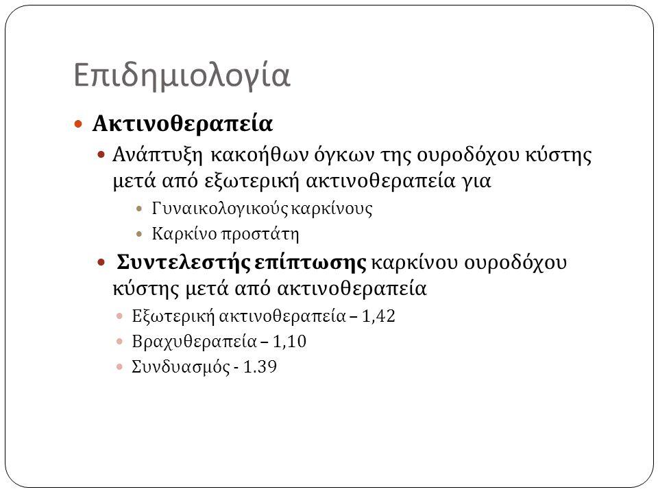 Επιδημιολογία Ακτινοθεραπεία