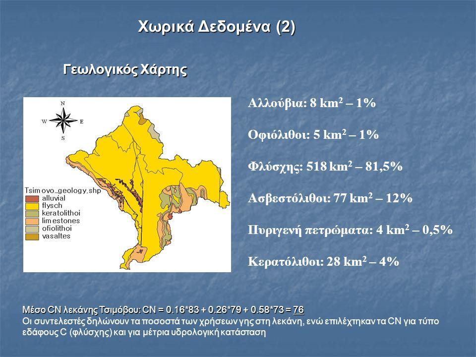 Χωρικά Δεδομένα (2) Γεωλογικός Χάρτης