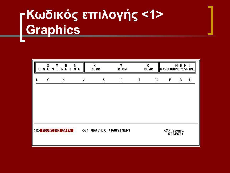 Κωδικός επιλογής <1> Graphics