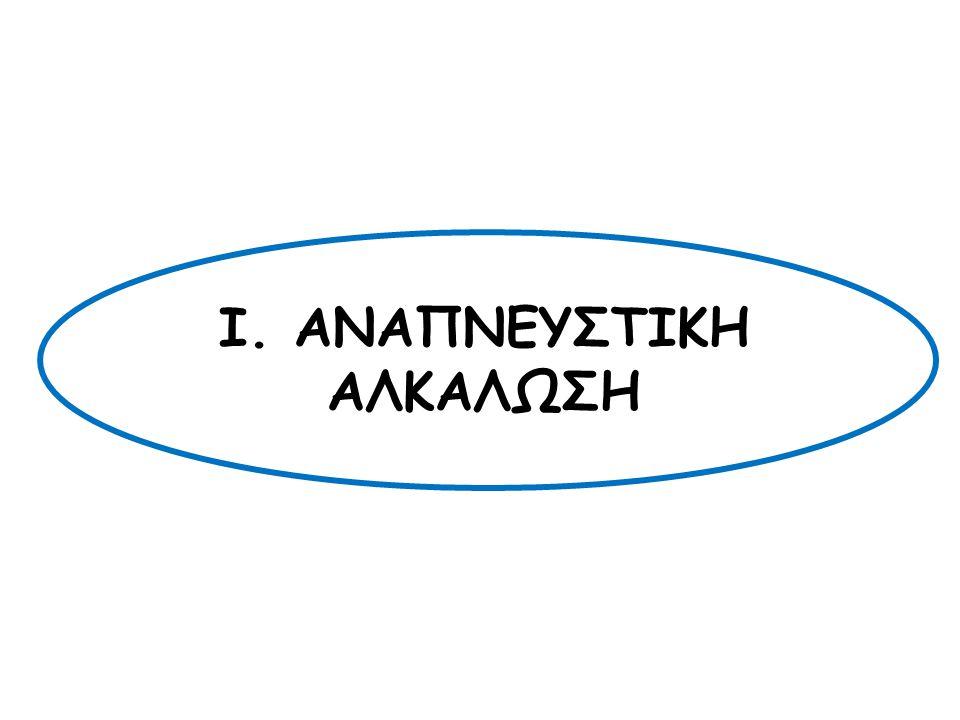 Ι. ΑΝΑΠΝΕΥΣΤΙΚΗ ΑΛΚΑΛΩΣΗ
