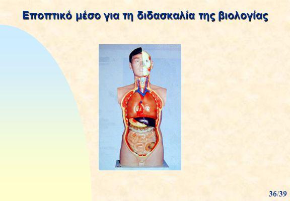 Εποπτικό μέσο για τη διδασκαλία της βιολογίας