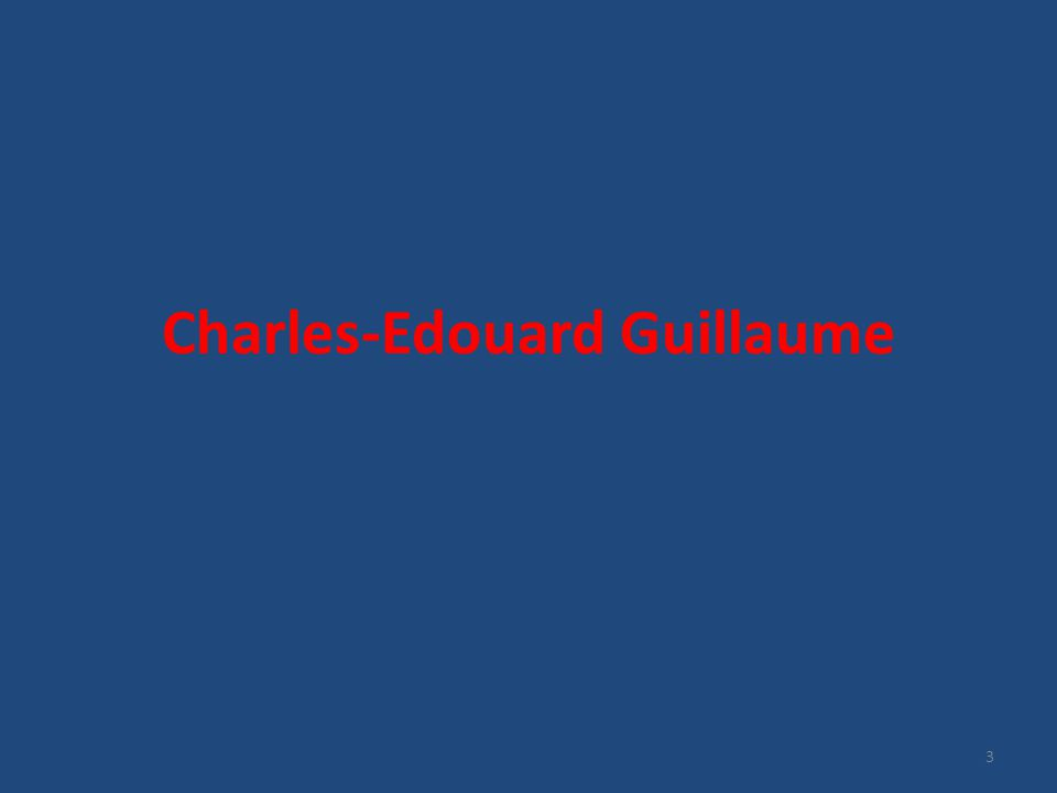 Charles-Edouard Guillaume