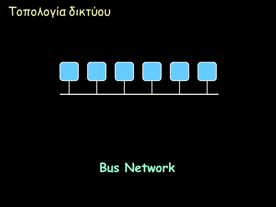 Τοπολογία δικτύου Bus Network