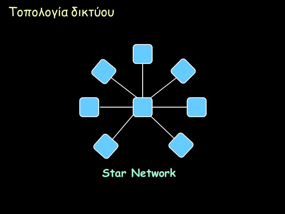Τοπολογία δικτύου Star Network